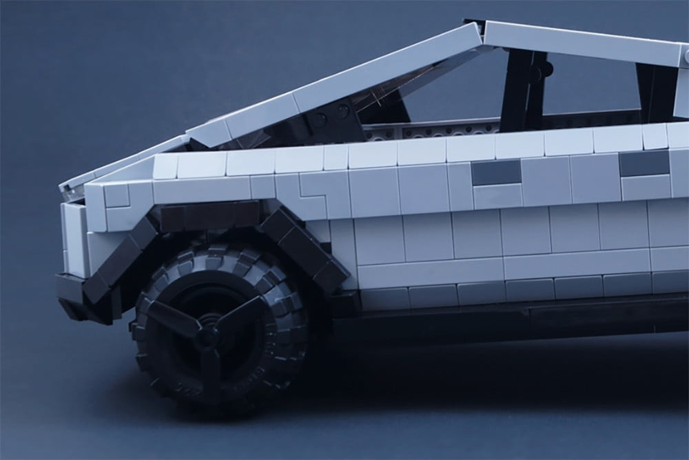 Tesla fans want a Cybertruck made of Legos, and it might actually happen