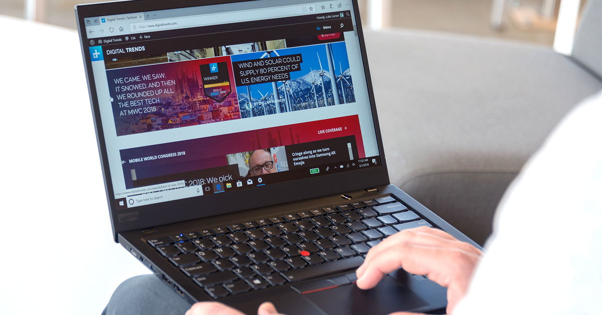 Lenovo ThinkPad X1 Carbon (2018) Review | Digital Trends