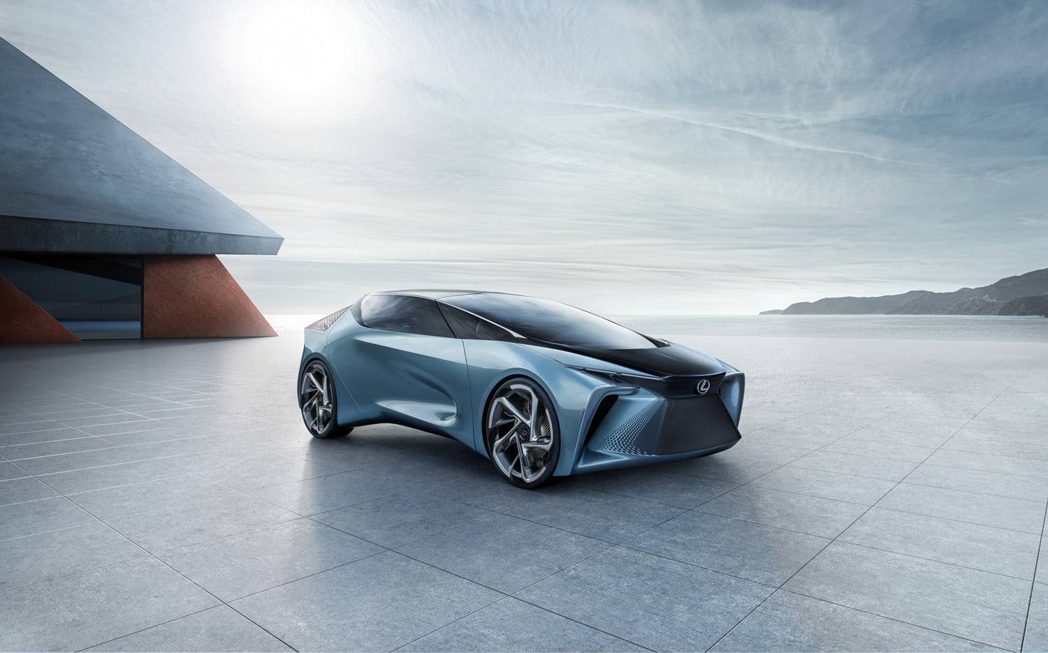 Lexus plugs in its electric car offensive with an innovative concept