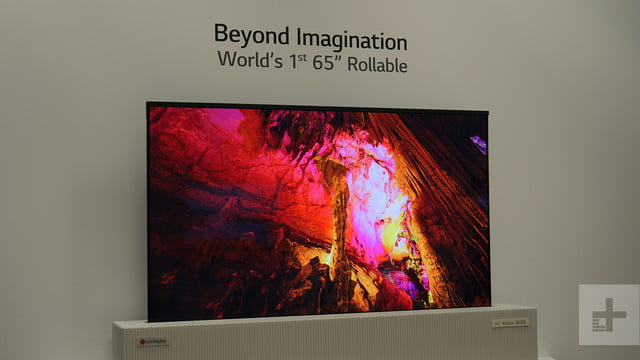 lg 65 inch rollable uhd oled ces video 1