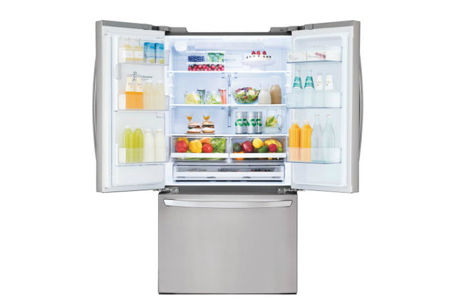 home depot chops samsung and lg french door fridge prices electronics  26 2 cu ft smart refrigerator with wi fi enabled in st