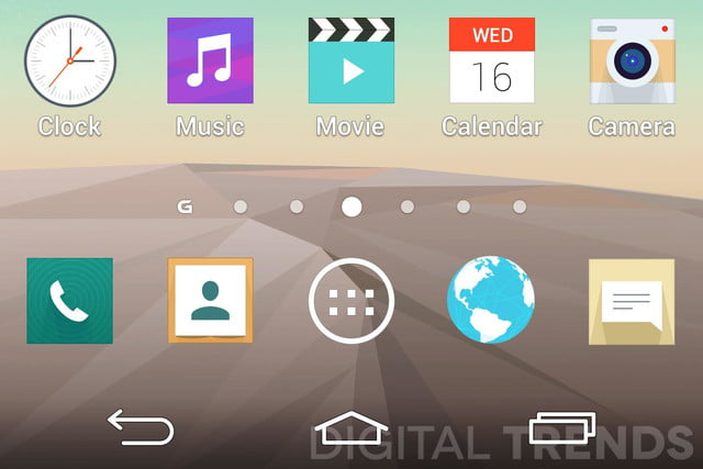 lg g3 homescreen screenshots leak exclusive android apps macro