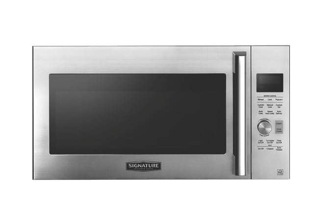signature is a luxury smart appliance brand from lg kitchen suite over the range microwave oven