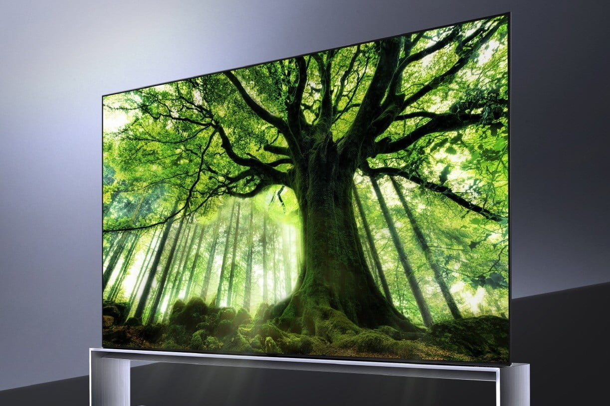 The Lg Z9 A Huge 88 Inch 8k Oled Tv Now Available For