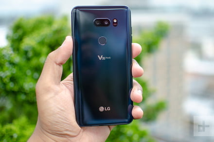 Lose the notch and get the LG V35 ThinQ for more than half