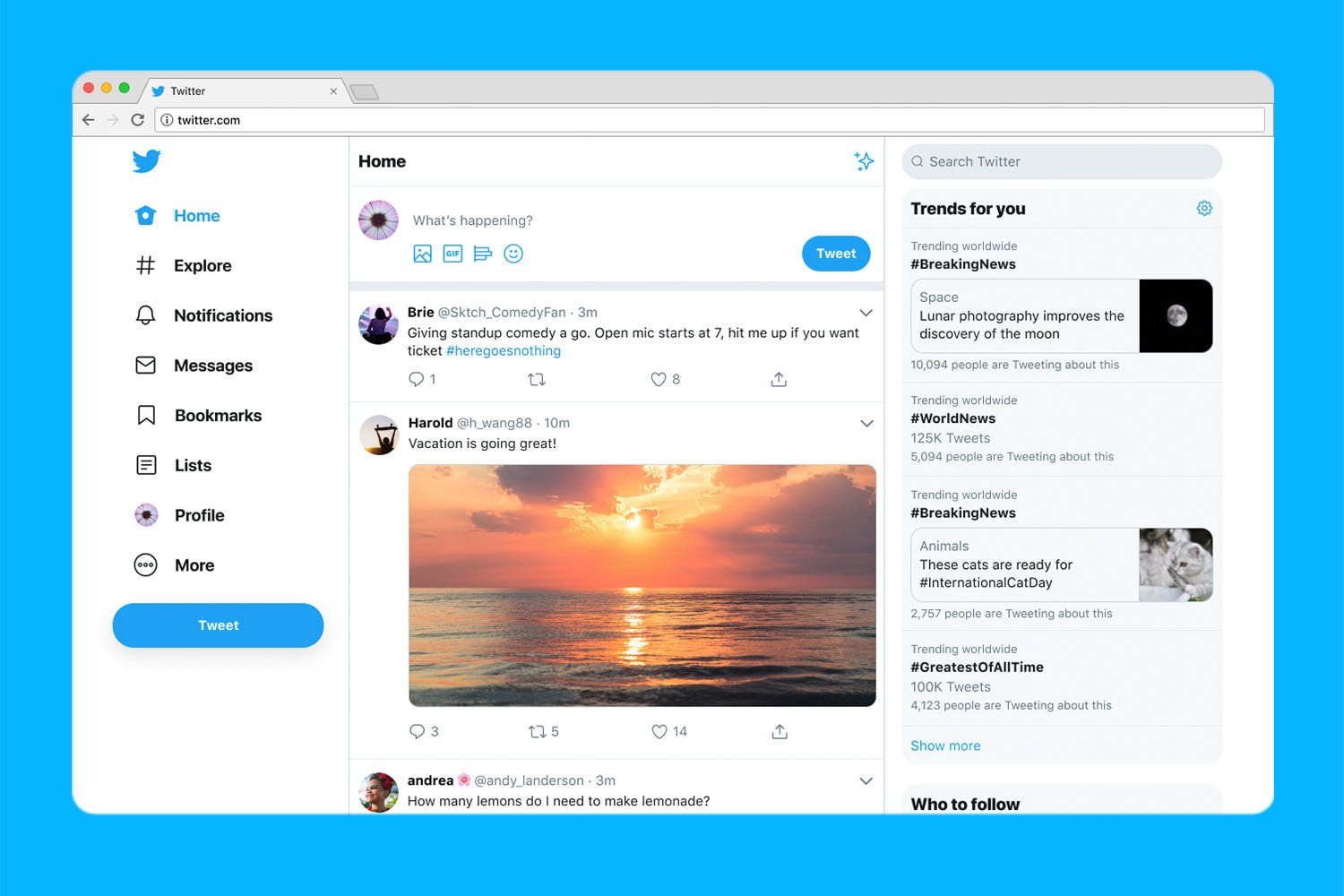 Craving the Old Twitter Design? This Browser Extension Will