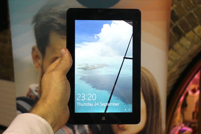 This Windows 10 tablet ignores spreadsheets, straps on