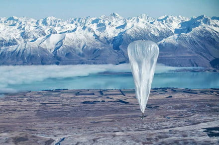 Google parent firm pops Loon balloon internet project