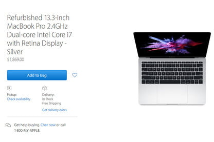 2016 MacBook Pros Now Available in Apple's Refurbished Store
