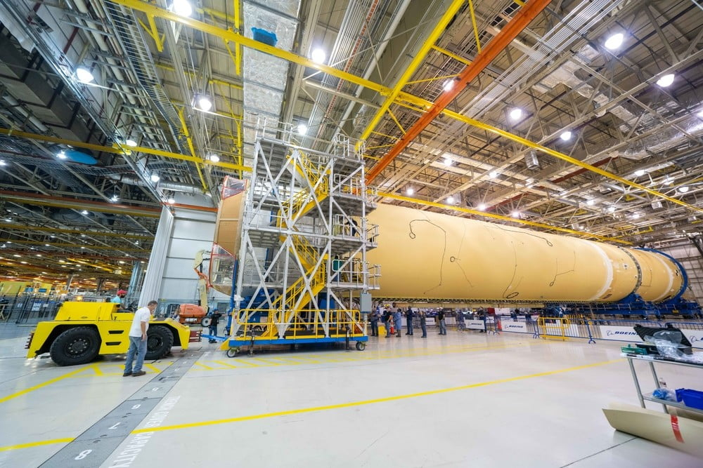 NASA's troubled next-generation rocket is finally assembled