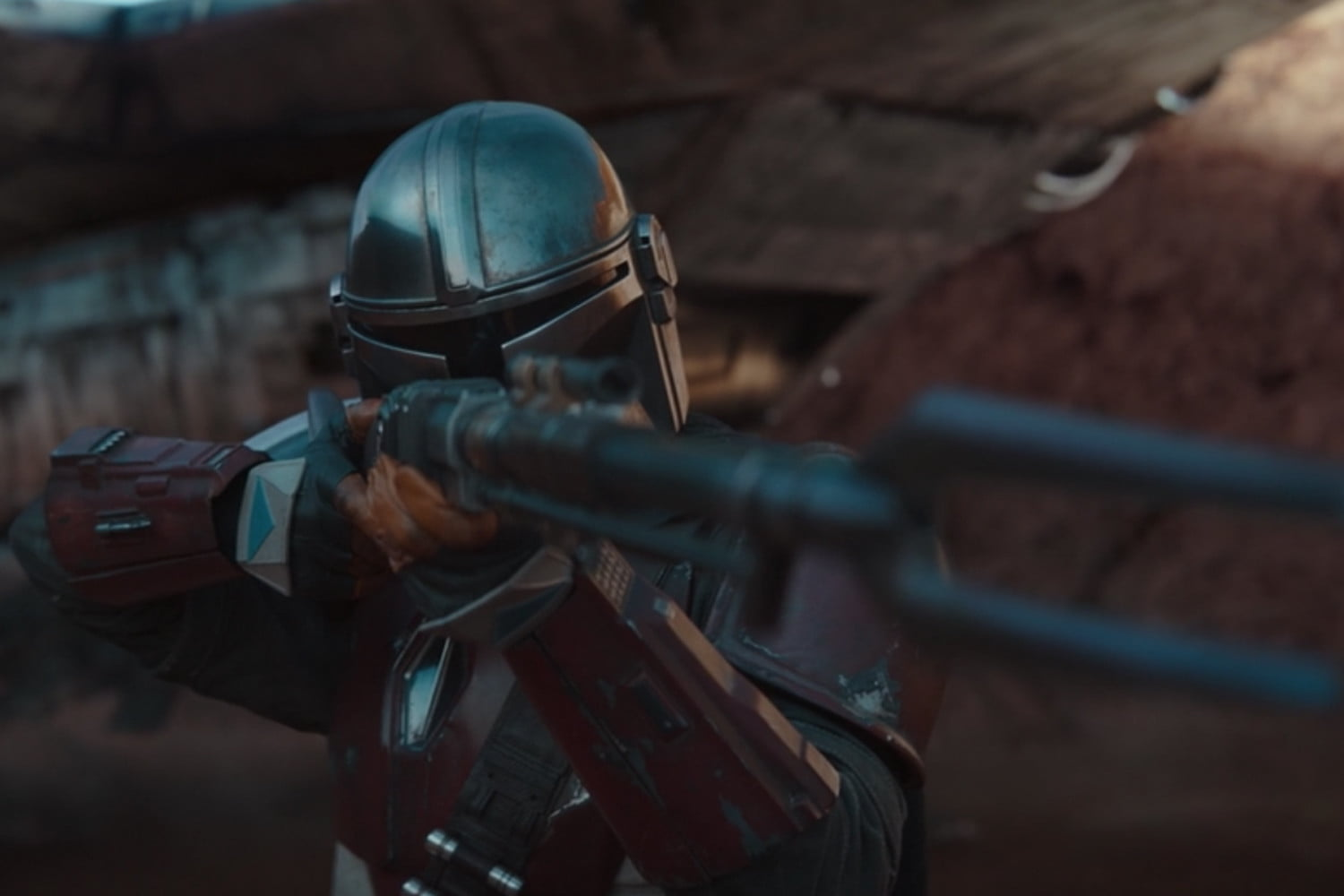 The Mandalorian is pure uncut nostalgia, and that's what makes it great