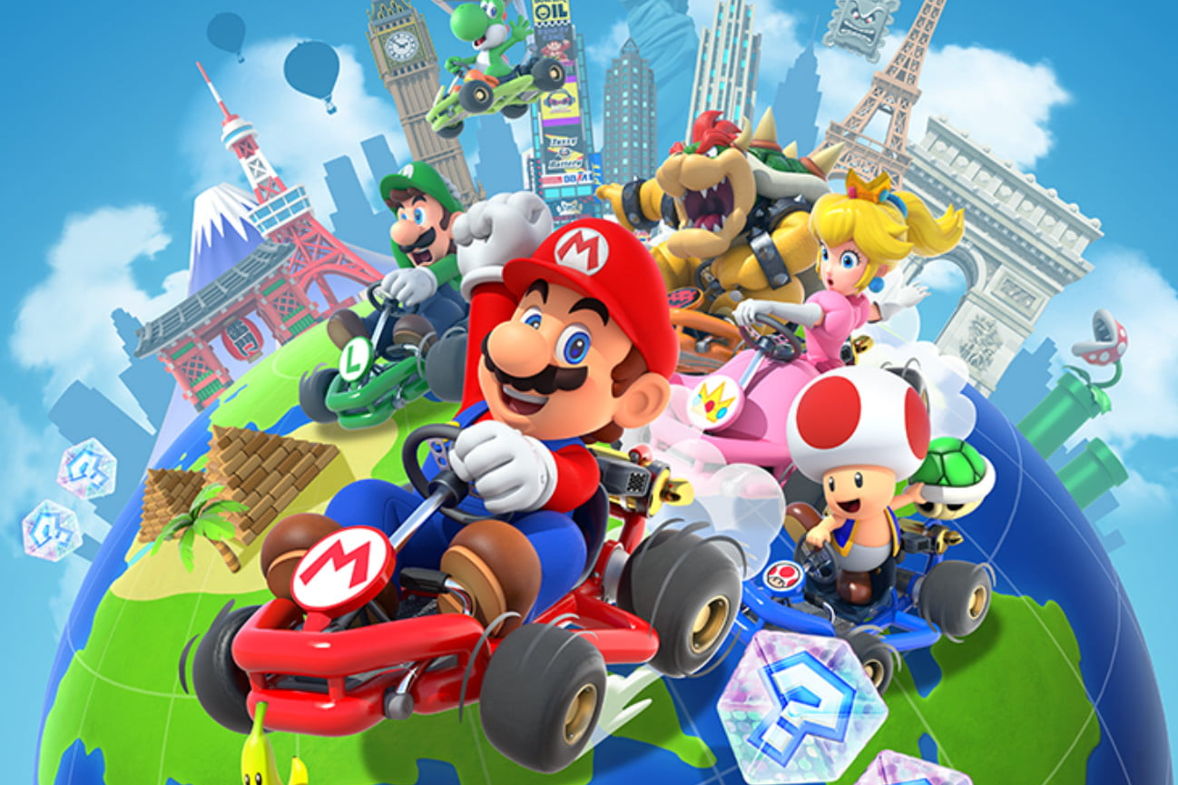 Mario Kart Tour revs it engines, will launch on September 25