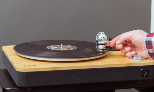 House of Marley Stir It Up Turntable Review   Digital Trends