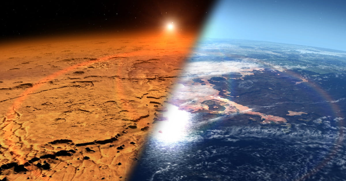 Mars Was Once an Ocean-Covered Planet With Thick Atmosphere Like Earth's