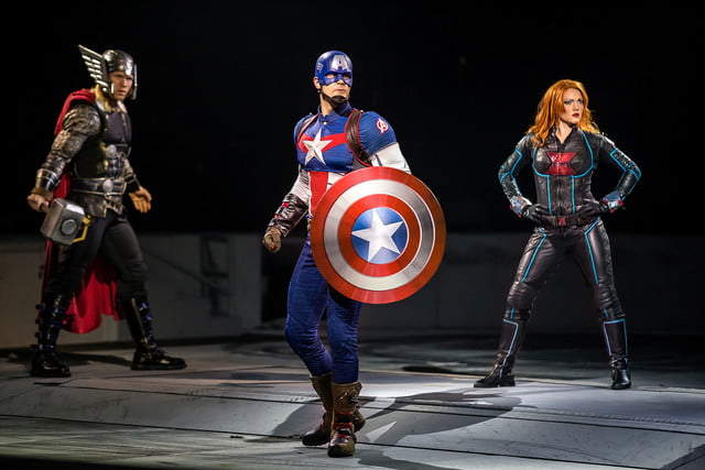 marvel universe live circus age of heroes on stage 3