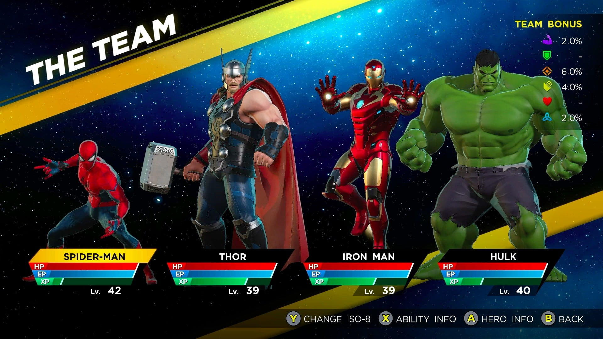 Marvel Ultimate Alliance 3 How To Assemble The Best Team