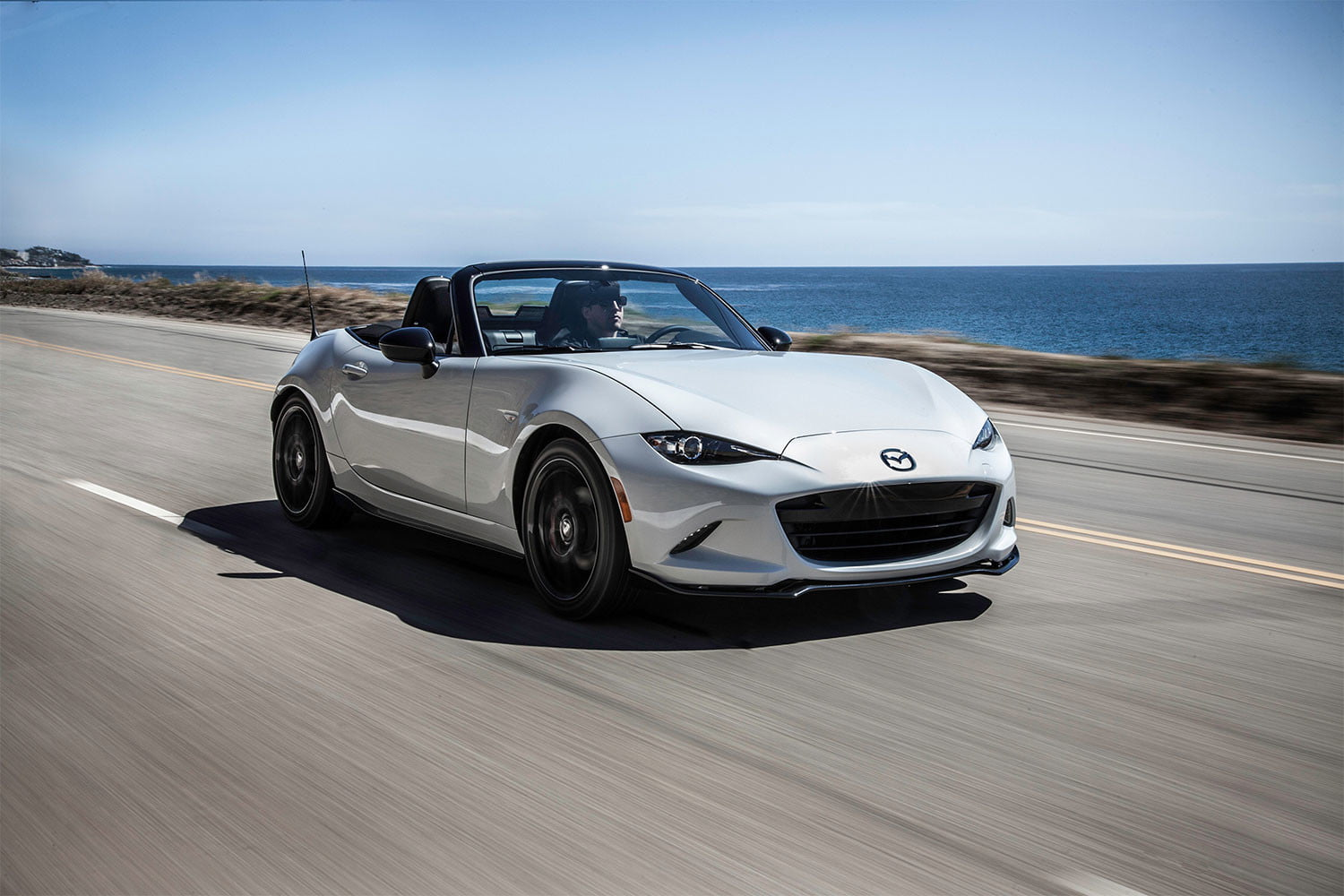 Can you imagine a Miata with a plug? Mazda says it's possible