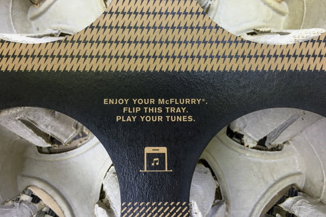 McDonald's Boombox Review directions
