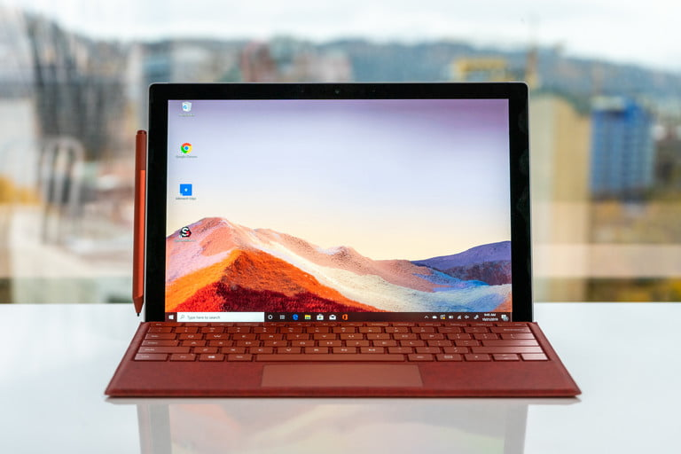 Microsoft Surface Pro 7 front