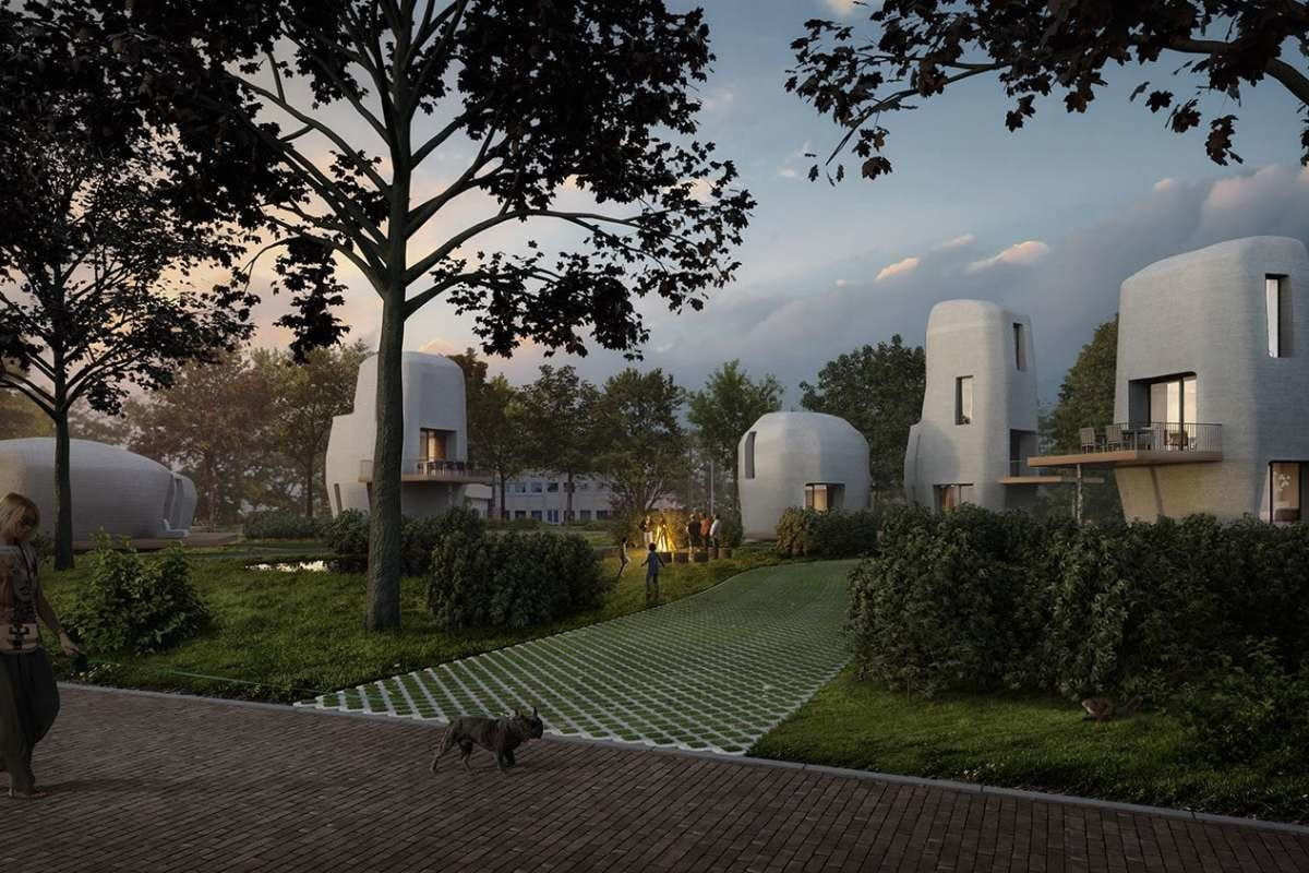 Homes in the Netherlands are concrete example of 3D printing's potential