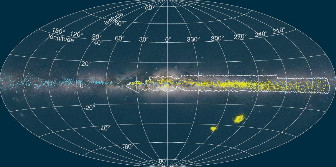 3D map of the Milky Way depicts our galaxy's twisted disk