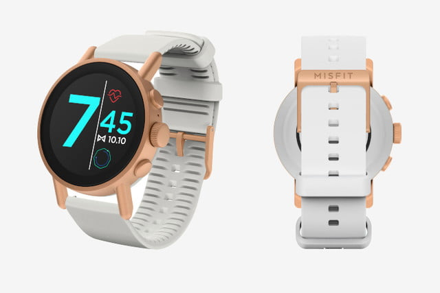 misfit vapor x smartwatch news white
