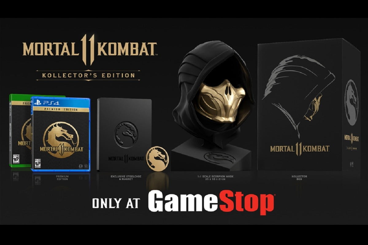 Mortal Kombat 11 Kollector S Edition Features Life Size Scorpion