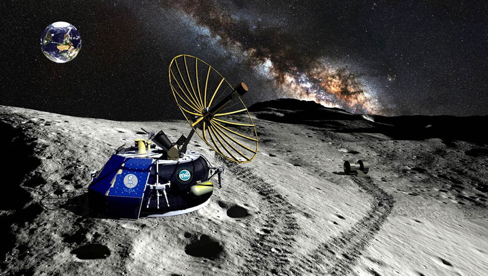 U.S. government approves first-ever moon landing for a private venture