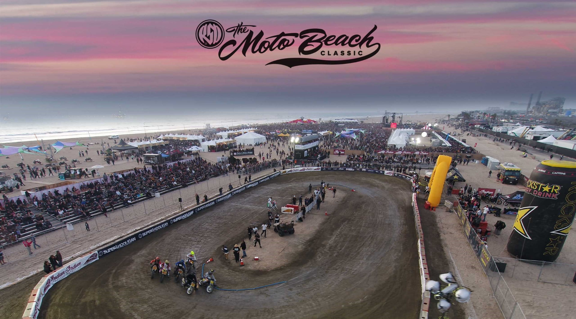 Roland Sands Moto Beach Classic prevails with sound, surf, and Hooligan races