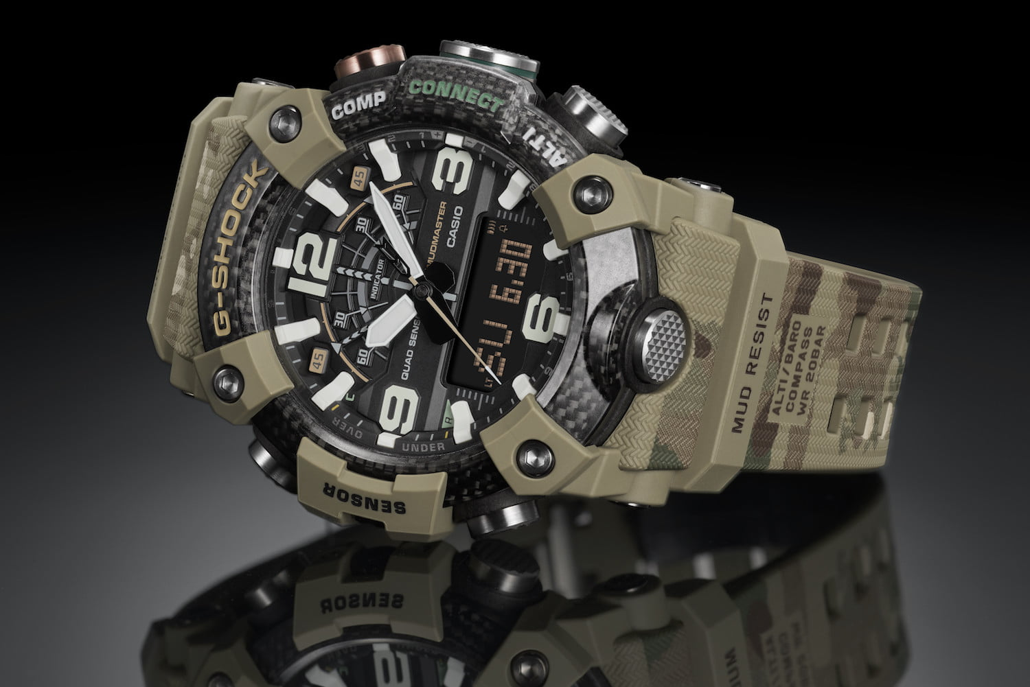 G Shock And The British Army Release Limited Edition Mudmaster Watch Digital Trends