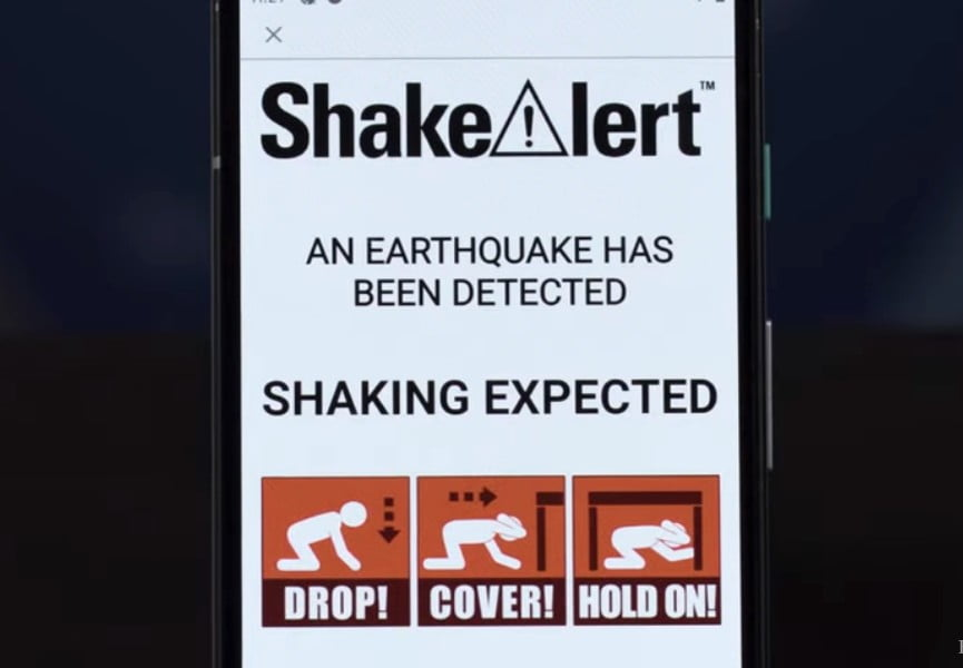 California's new quake-alert app can give you vital seconds to take action