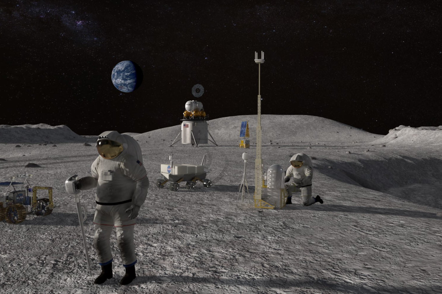 NASA hasn't been to the moon in almost 50 years. Now, it's going back annually