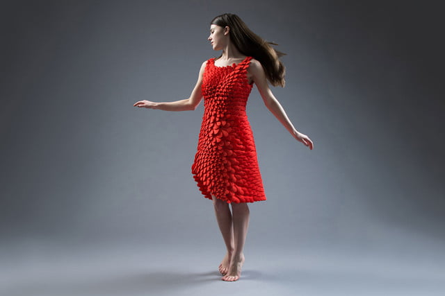 3d printed dress petal kinematics nervous system kinematic petals 0010