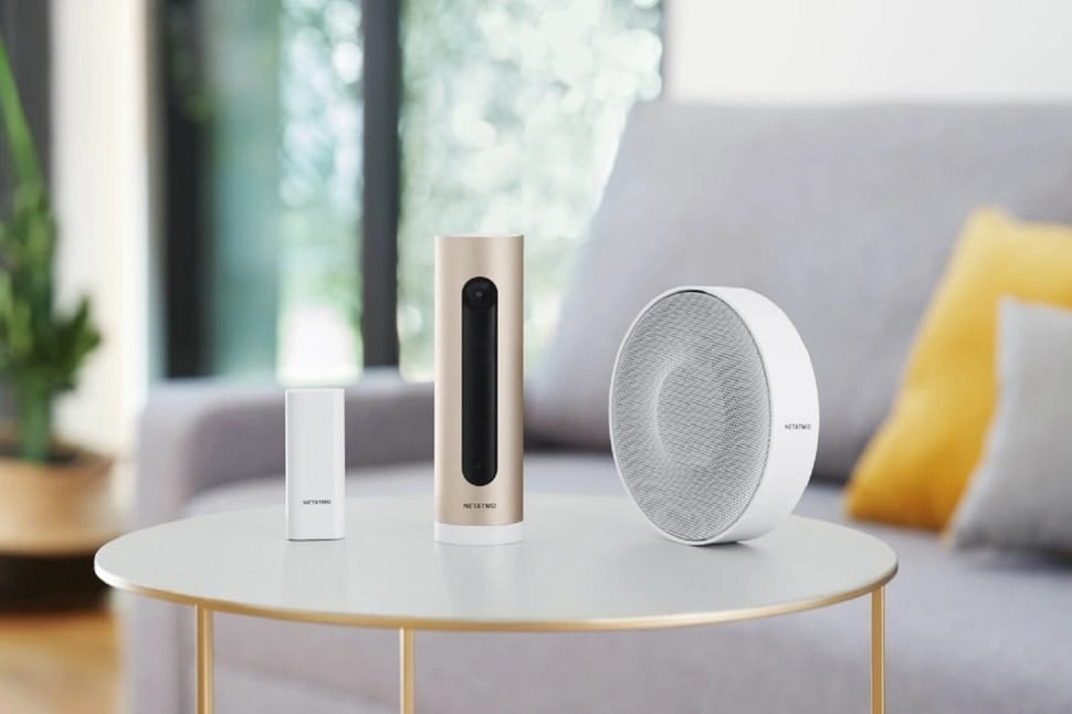 The Netatmo home security system protects with a smart camera, sirens, and sensors