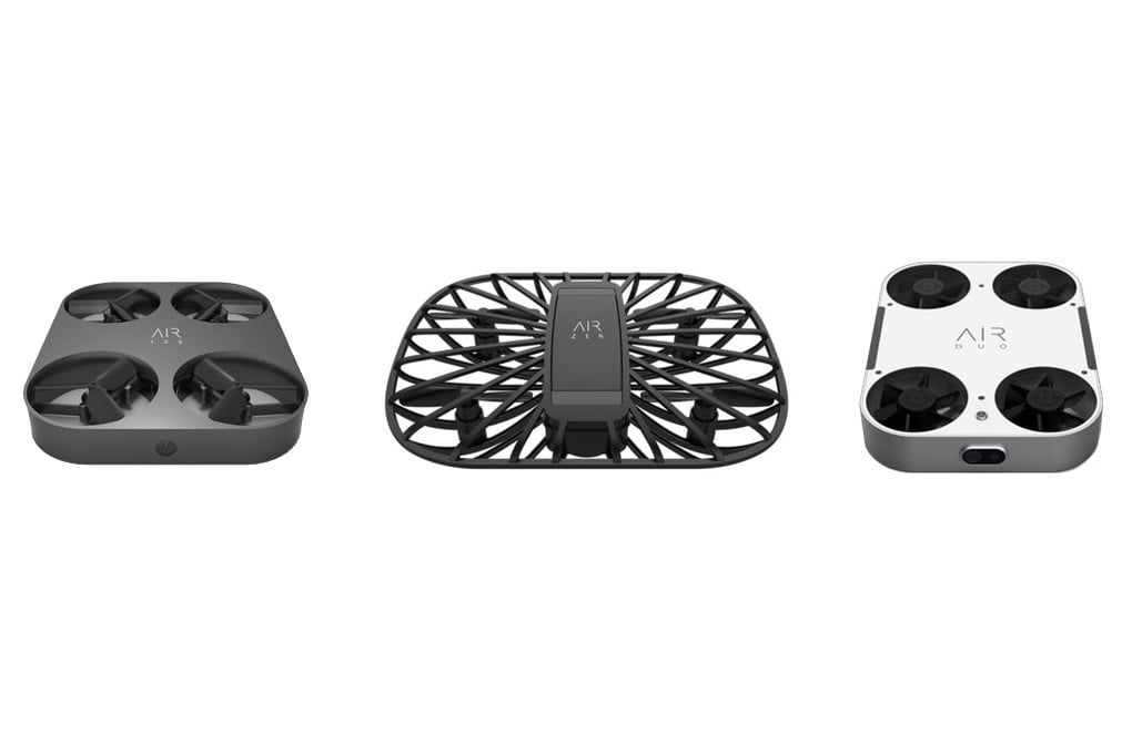 AirSelfie makes a course correction at CES 2019 with 3 new selfie drones