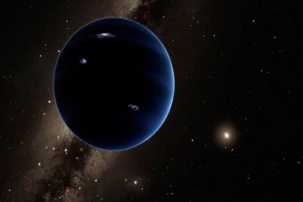 Astronomers use new technique to search for Planet Nine