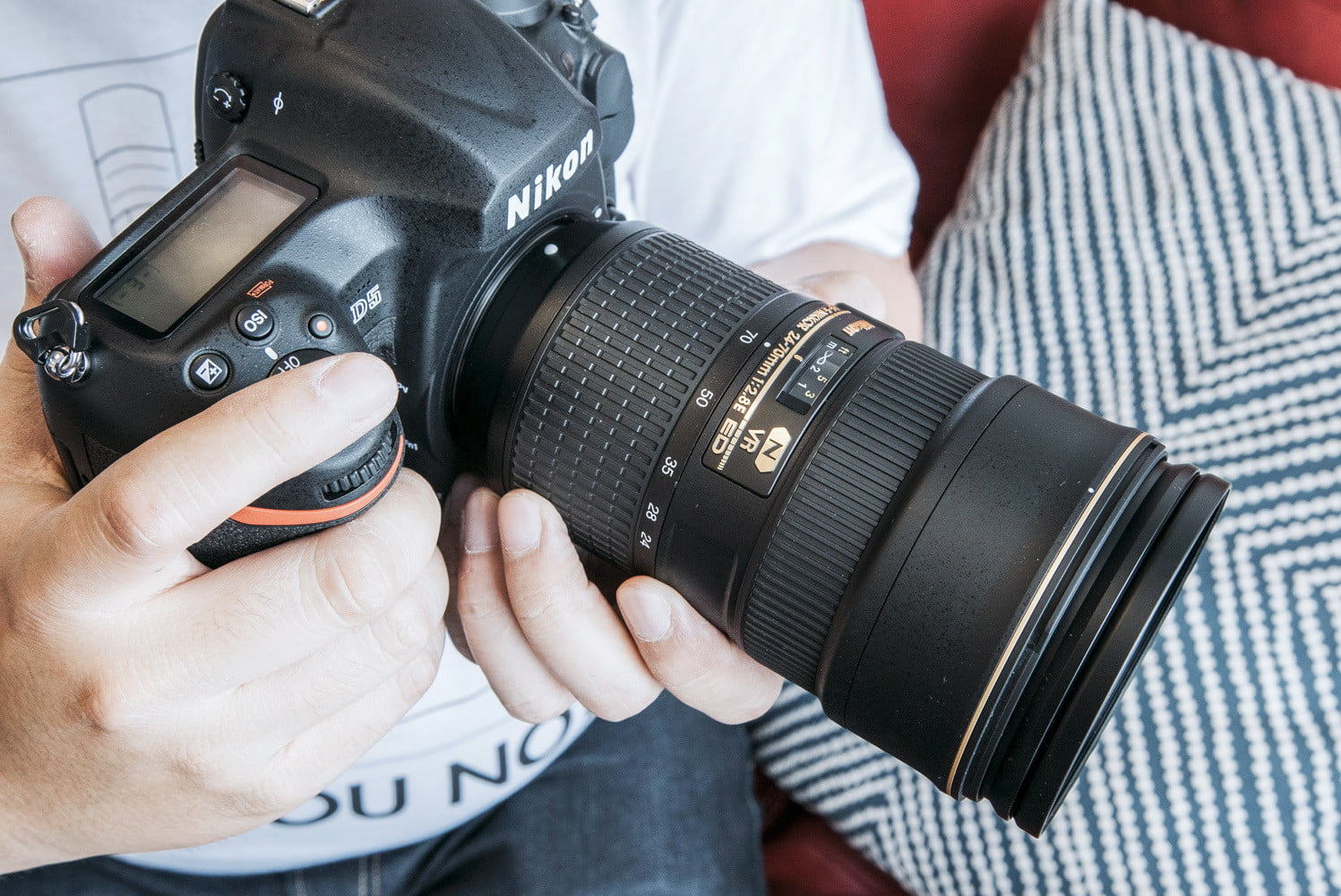 New Nikon Firmware Adds Features to D5, Bluetooth Fix to