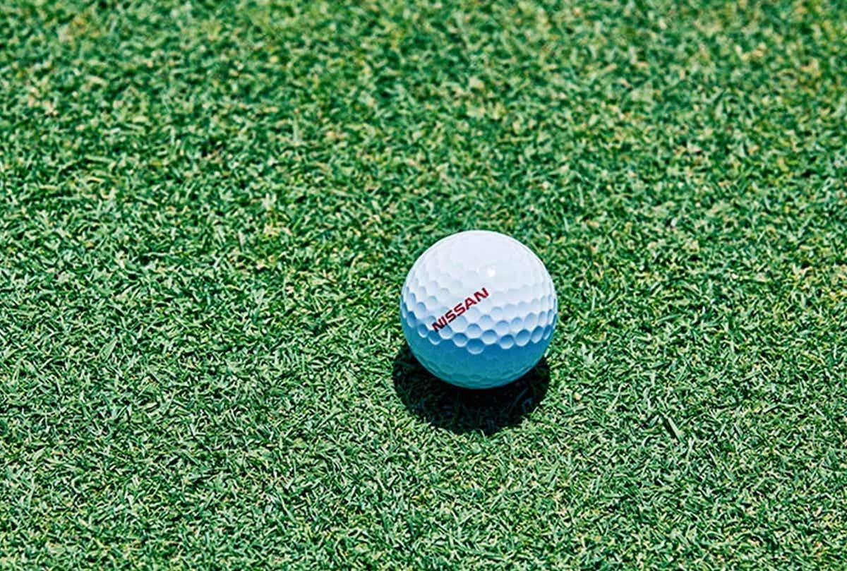 Nissan creates a self-driving golf ball that always finds the hole