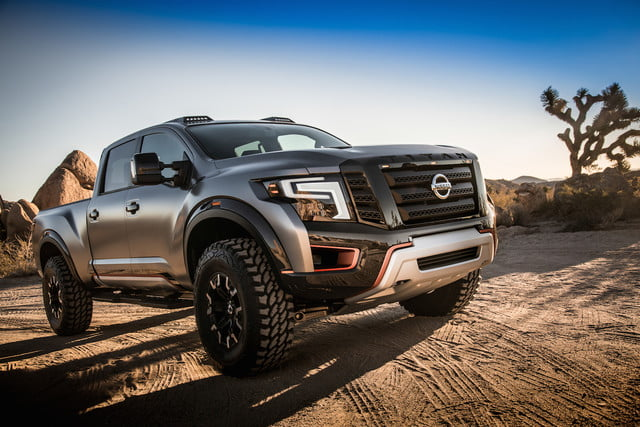 Nissan Titan Warrior Concept | NAIAS 2016, Video, Pictures