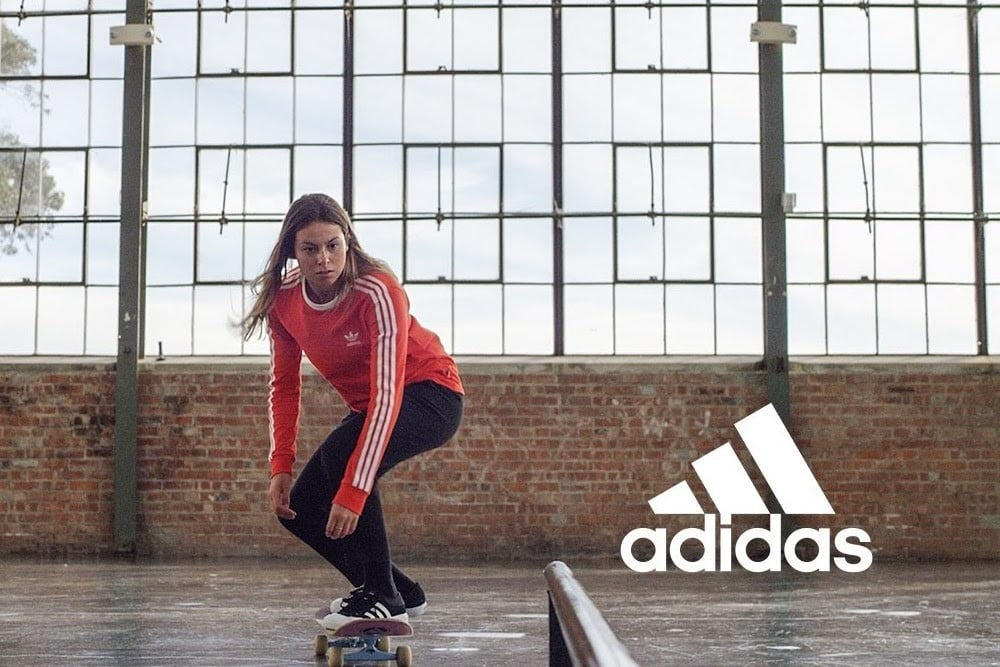 Adidas' First Female Pro Skater