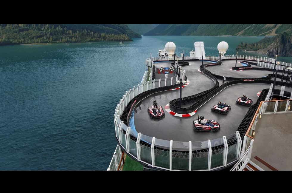 Live out your Mario Kart fantasies on this Norwegian cruise ship