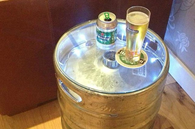 8 cool things you can make out of a keg not on the high street table