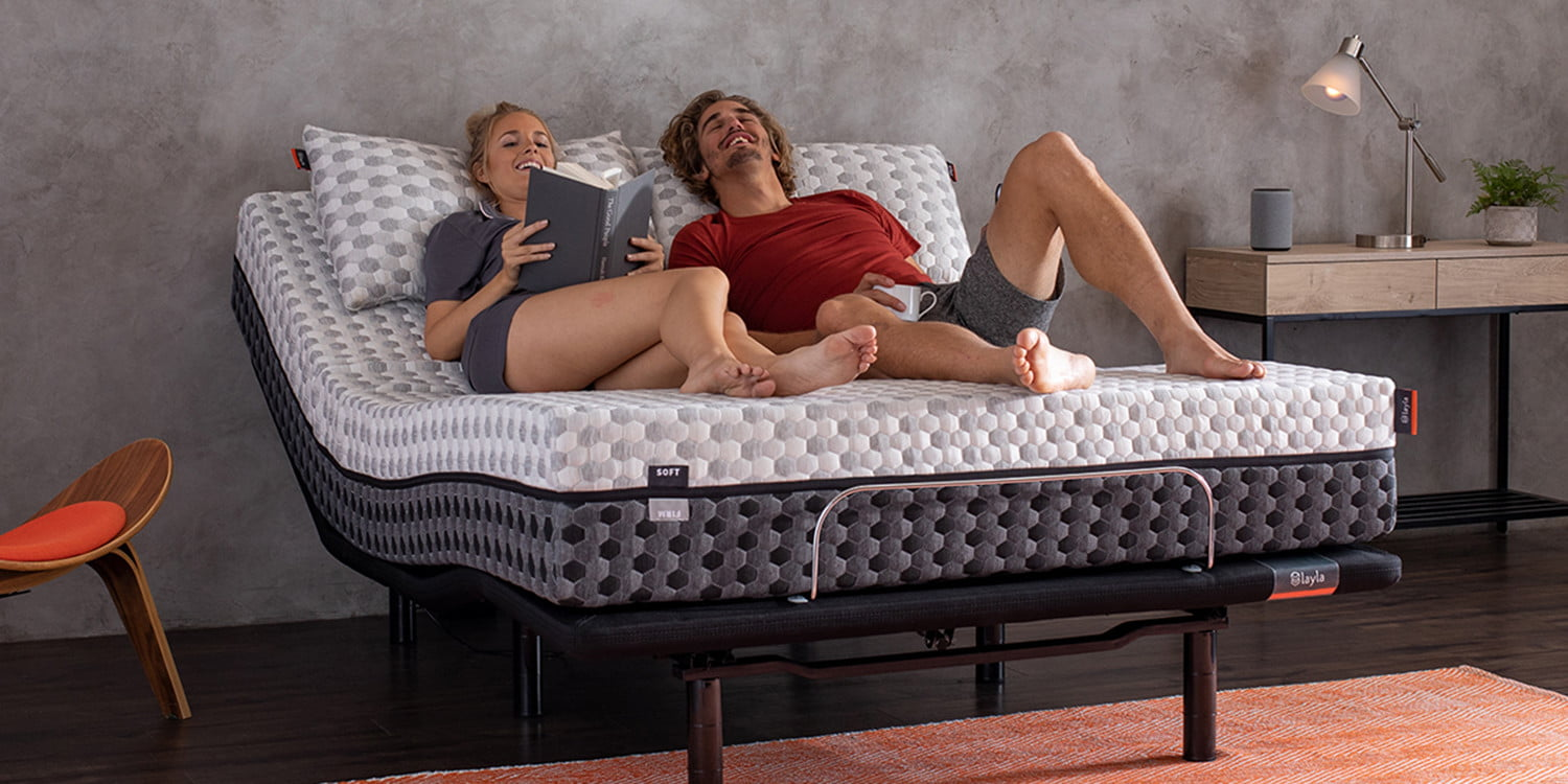 This new adjustable bed is smart enough to combat snoring and give massages
