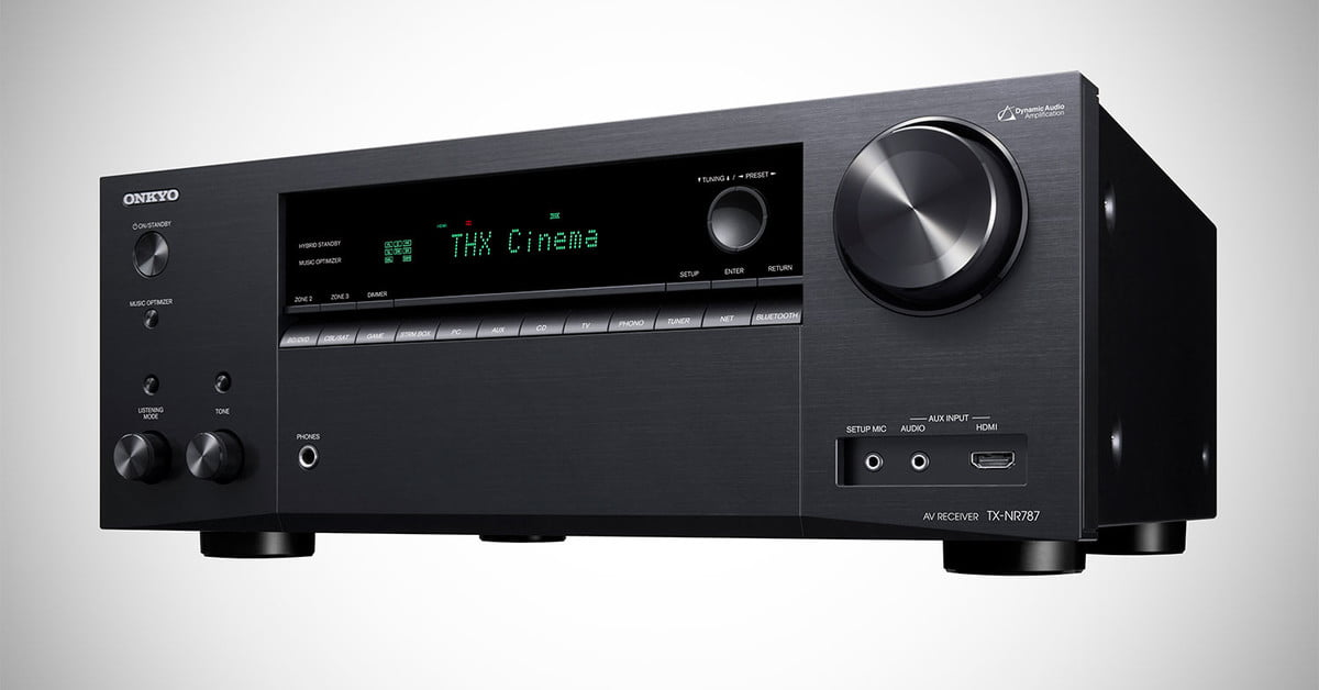 The Onkyo TX-NR787 Receiver Has a Secret Weapon and it isn't