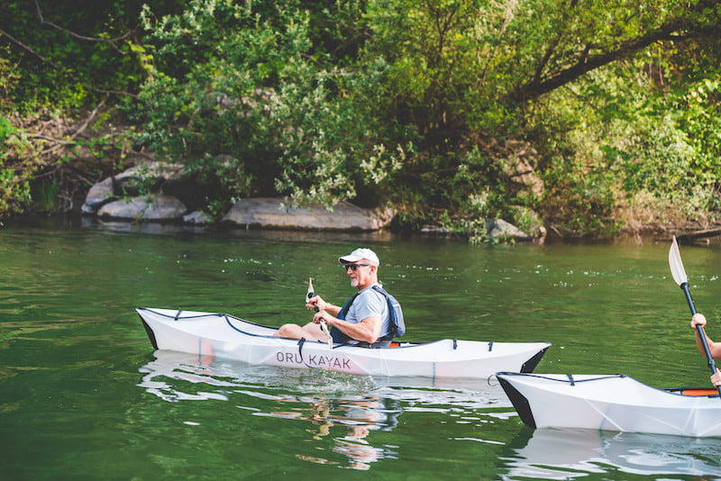 This origami-inspired kayak is so small that you could fit 3 in your trunk