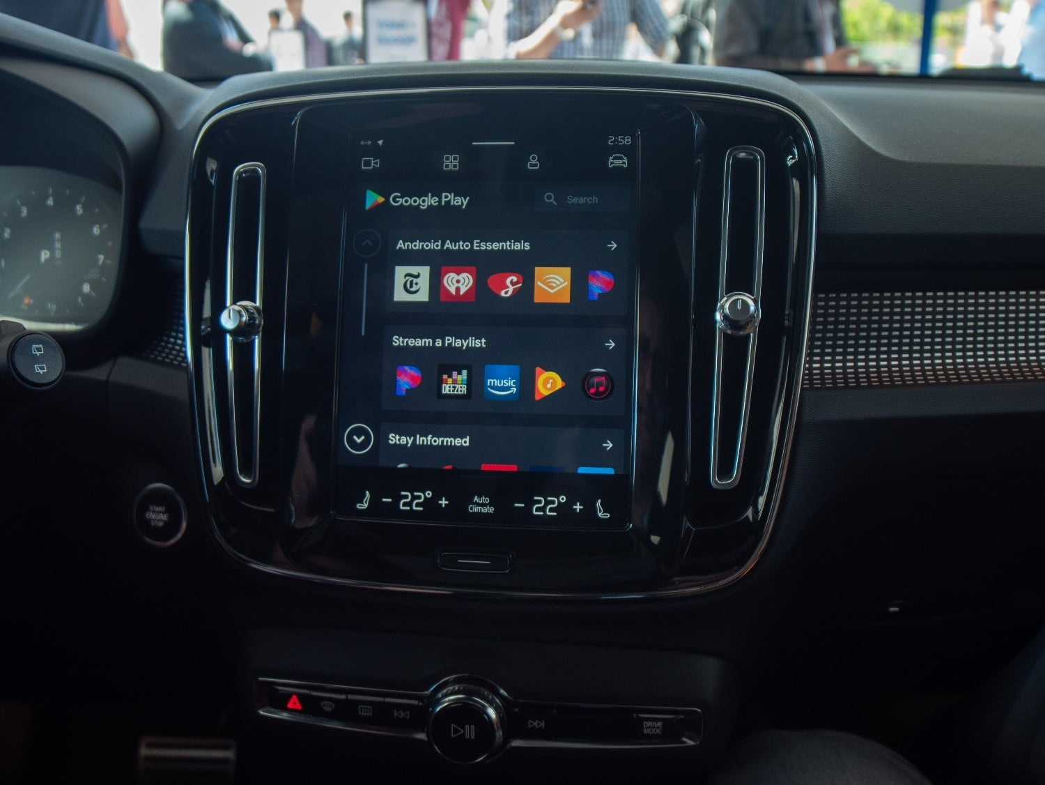 Behind the Wheel With Volvo's New Android-based Infotainment