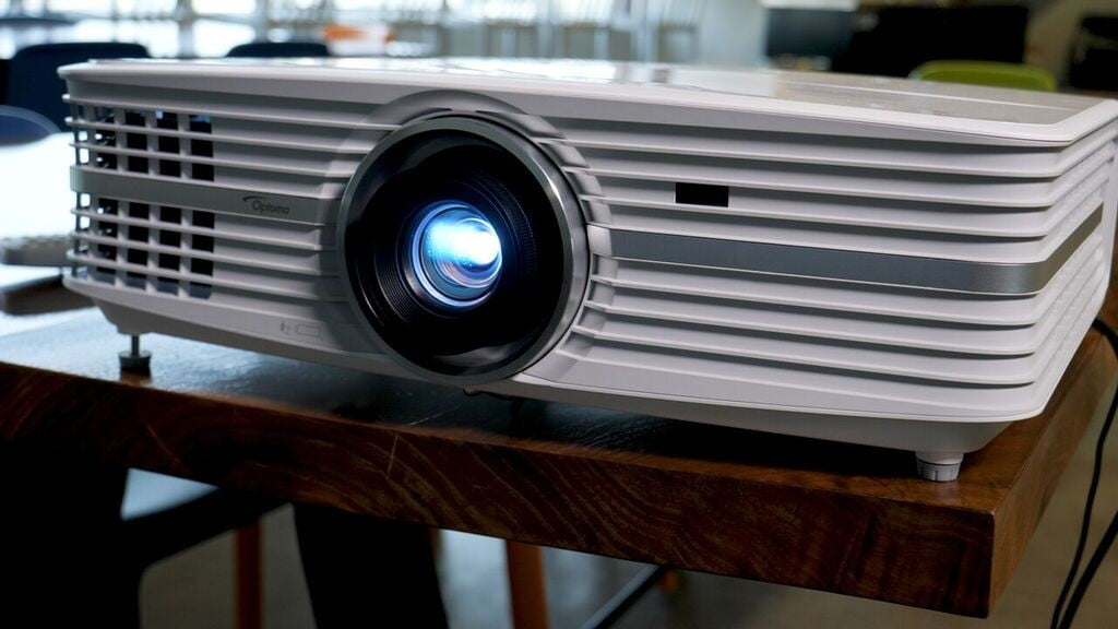 Optoma UHD60 projector unboxing and setup   Video   Digital