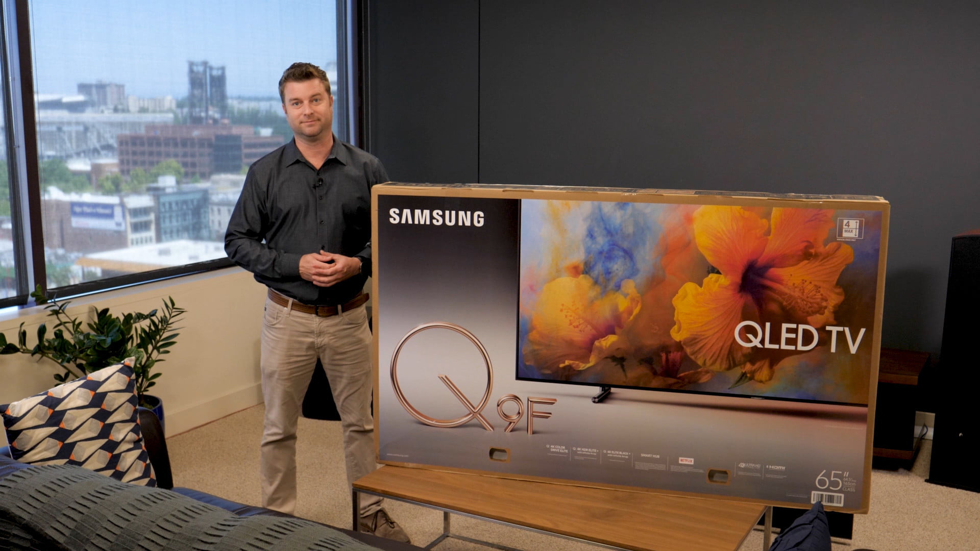 Here's a Samsung Q9 Setup and Unboxing Guide | Digital Trends