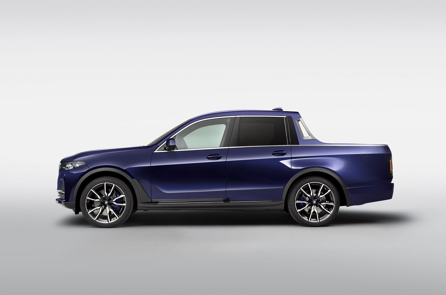 Your dreams (or nightmares) of a BMW-badged pickup truck just came true