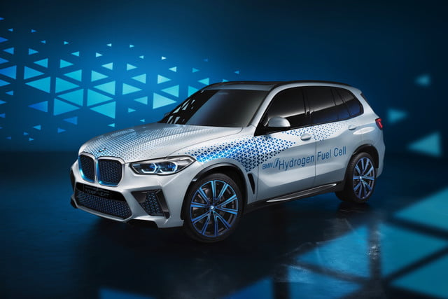 bmw i hydrogen next concept fuel cell vehicle 2019 frankfurt motor show
